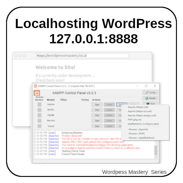 WPM04-Localhosting WordPress Site