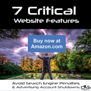 7 Critical Website Features Kindle Book